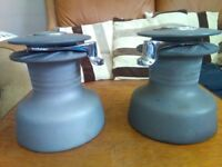 GIBB 40 STA SELF TAILING WINCHES RECONDITIONED / PAIR OF WINCHES / SAILING YACHT WINCHES