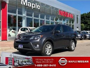 2013 Toyota RAV4 LIMITED-Leather,Roof,Alloys,Clean Carproof!