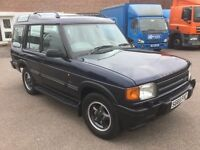 S reg Land Rover DIscovery GS 300 Tdi 7seats Air con side steps