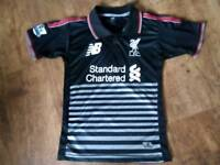 New Balance Liverpool 3rd Football Shirt Boys Age 13-14 Yrs