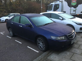 Honda Accord saloon leather seats 2.0 Executive petrol Blue