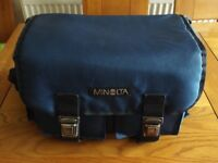 Minolta Genuine Blue Camera Case