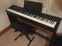 Casio PX-350m digital piano keyboard
