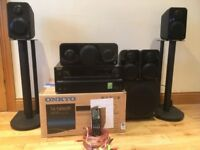 Complete 5.1 Monitor Audio Surround Speaker System with Onkyo TX-NR609 AV Receiver