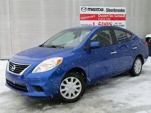 2012 Nissan Versa PNEUS D'HIVER AUTOMATIQUE CLIMATISEUR BLUETOOT