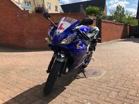 Yamaha yzf r125 cc low mileage
