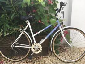 Raleigh pioneer 20 inch frame woman's retro bike excellent condition