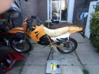 Hyosung xrx 125 for sale or swap for car