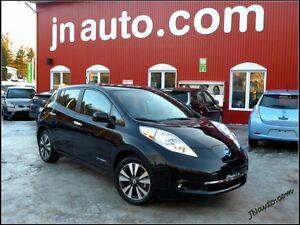 2013 Nissan LEAF SL 6.6 kw , recharge 110v,220v et chademo 400v