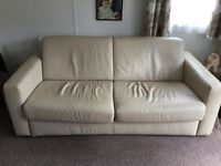 Sofabed leather for sale