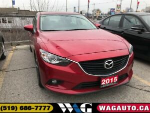 2015 Mazda Mazda6 GT | NAV | LEATHER | ROOF | CAM
