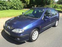 2002 (02) Renault Megane 1.9 dti Diesel