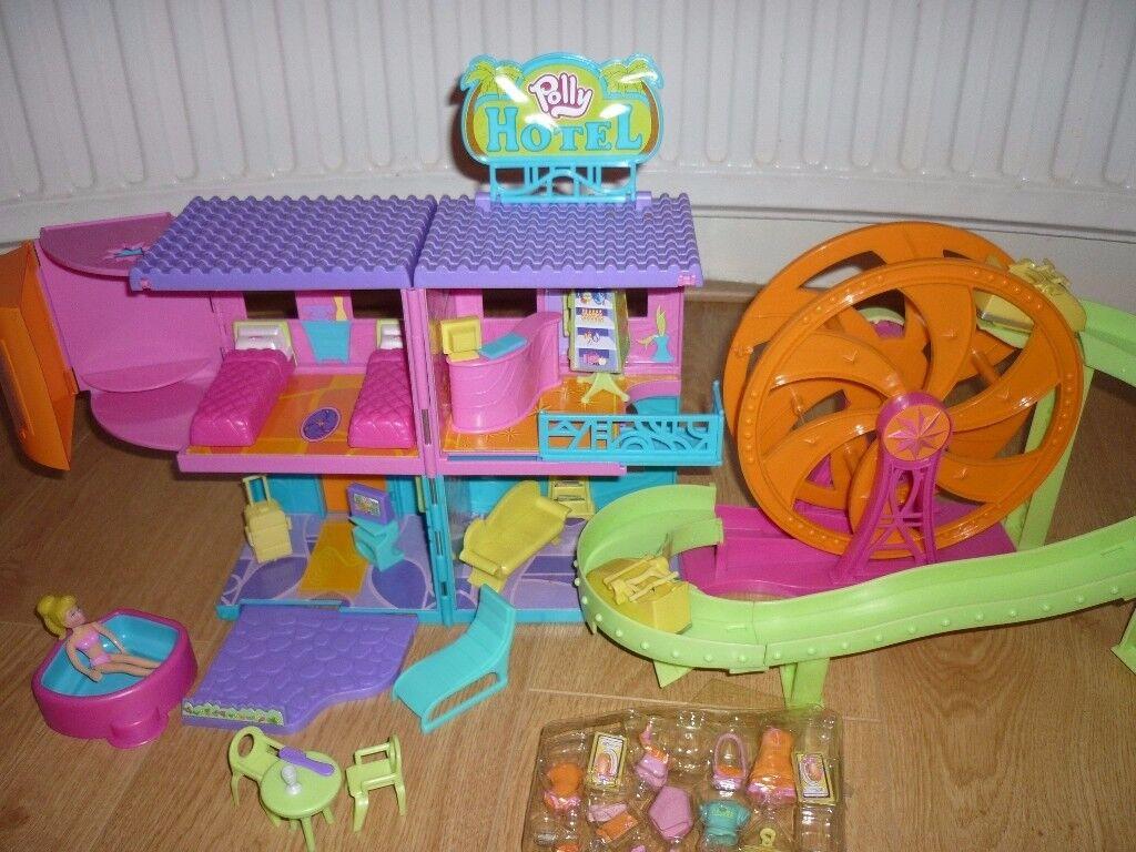 Polly Pocket Relaxin' Resort Rock n Roller Coaster Hotel For Sale