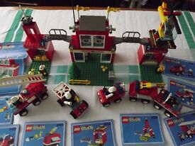 Large collection of Lego sets