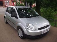 Ford Fiesta 1.4 5dr (a/c) 3 Months Warranty ideal first Car Cheap in Fuel 2003 (53 reg), Hatchback