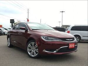 2016 Chrysler 200 LIMITED**HEATED SEATS**BLUETOOTH
