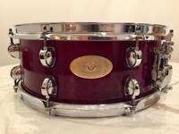 Premier Artist Maple 14x5.5 Snare Drum - Made in England