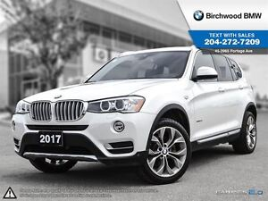 2017 BMW X3 Xdrive28i Premium Package Enhanced