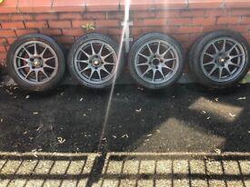 """4x108 BSA Alloy Wheels 15"""" Lightweight Track Day"""