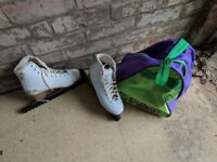 Girls Ice Skates Size 5