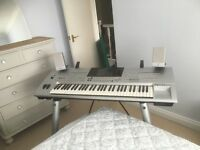 Yamaha Tyros keyboard in excellent working condition. Home use only.