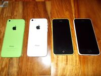 (2) X Apple iPhone's 5C (Sparesor repair) (£40 Each)