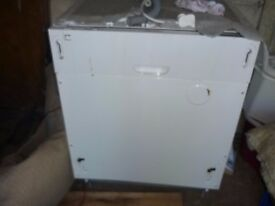 Intergrated dishwasher made by Bush 23 1/2 width x 32 height