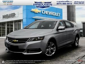 2015 Chevrolet Impala 2LT ONE OWNER HEATED SEATS SUROOF REAR CAM