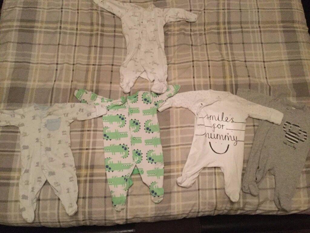 Baby boy clothes Bundle, 0-3 months