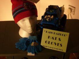 NEW - Paw Patrol ' Hat & Gloves '