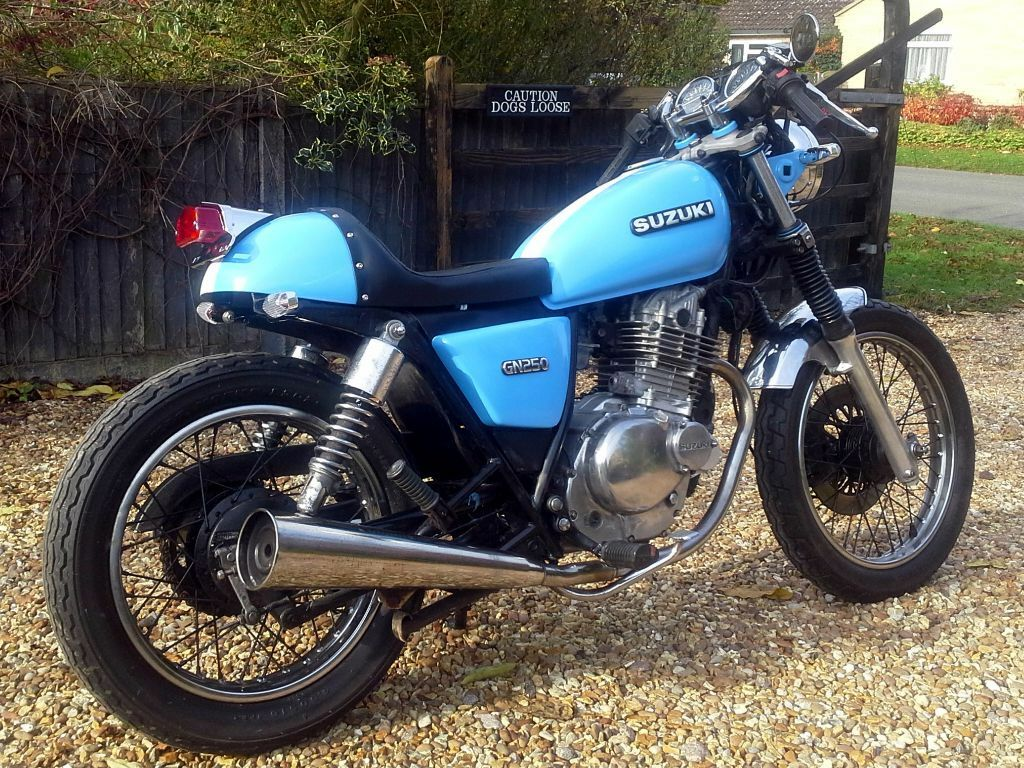 Suzuki gn250 cafe Racer   in Alford, Lincolnshire   Gumtree