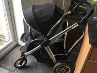 Oyster max twin pushchair