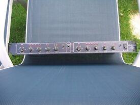 Drawmer LX 20 stereo rack compressor expander