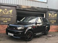 Land Rover Range Rover Sport 2.7 TD V6 HSE 2012 AUTOBIOGRAPHY-RED LEATHER-HUGE SPEC