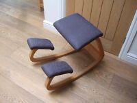Stokke Varier Balance kneeling/rocking chair - ergonomically designed to reduce back pain