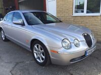 Superb S Type, 3.0. Facelift with Sat Nav. Excellent condition, FSH. Full MOT. Warranty!