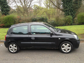 RENAULT CLIO DYNAMIC 2003 ALLOYS/AIR CON/CD LONG MOT CHEAP TO TAX & INSURE -WE CAN DELIVER TO YOU