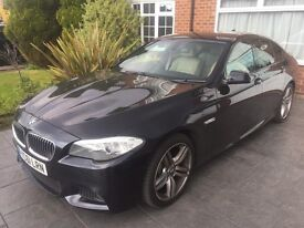 BMW 5 Series 2.0 520d M Sport 4dr Automatic 61 2011 Pro Widescreen Cream Heated Leather Seats FBMWSH