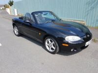 2004 Mazda MX5 mk2.5 convertible, full year MOT - trade ins & swaps welcome - delivery available
