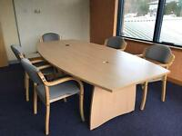 Meeting room table. Boardroom, conference table. 2 available.