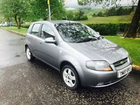 2007 07 Chevrolet kalos 1.4 only 41000 miles just £795