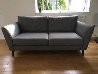 'Carnaby' 3 seater sofa, armchair and footstool
