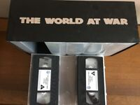 The World at War VHS Tapes - Complete Set