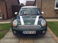 Racing Green Mini One, 1.6, 3 door, Quick Sell needed, £3750 or best offer