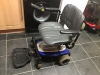 VERY LIGHTWEIGHT SHOPRIDER MOBILITY SCOOTER , CHAIR IN EXCELENT CONDITION,