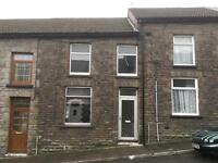 Large two bedroom house in ton pentre cooperation street, really nice respectable street