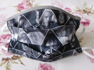 Kinder Maske Mundschutz Harry Potter Ron Draco Hermione Snape Dumbledore Stoff