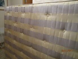 Silentnight, spare bedroom King size mattress, excellent condition, medium to firm