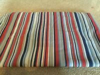Boys stripe curtains