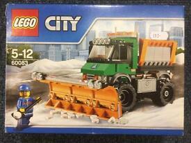 Lego 60083 snow plough